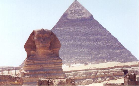 Giza Pyramids & Sphynx Theories