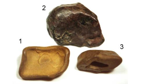 Tunguska rocks