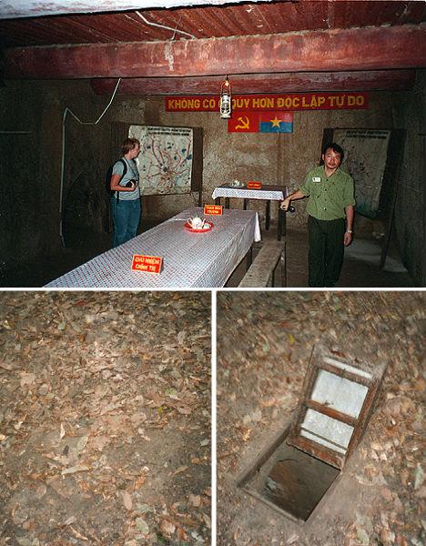 Cu Chi Vietnam War Tunnels