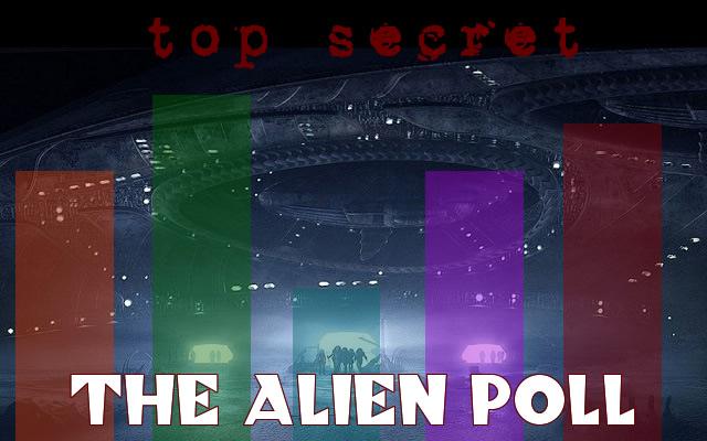 alien evidence poll