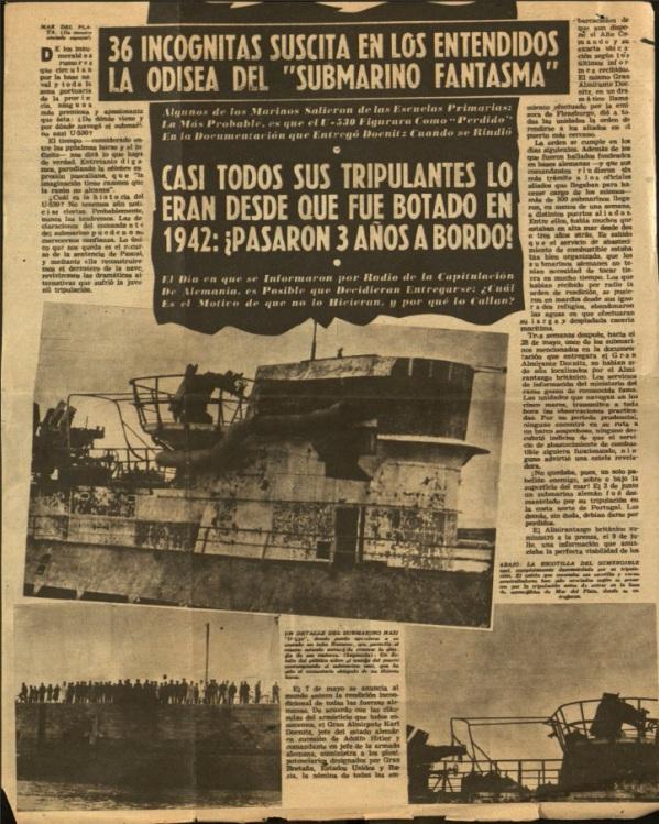JPEG-8-HUNTING-HITLER-argentina-newspaper-U530-ARRIVES-ahora-July-14-1945-2