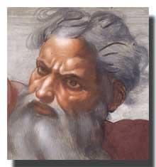 Yahweh, the angry, jealous tribal god