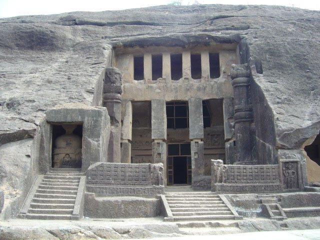Kanheri Caves in Mumbai