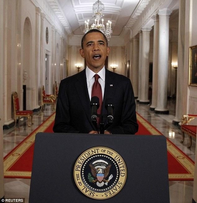 Obama tells the world Osama is dead...