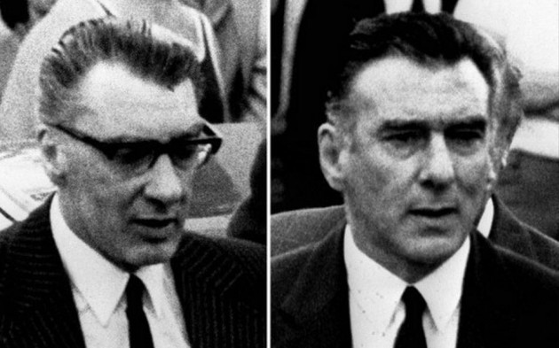 London's most notorious gangsters the Kray Twins