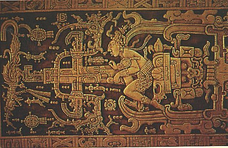 The ruler of the Mayan city of Palenque, K'inich Janaab' Pakal