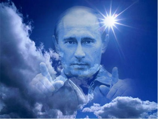 Russian-Vladimir-Putin-God-in-the-Blue-Sky