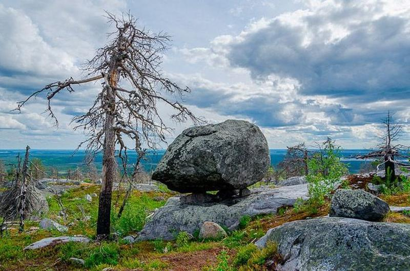 Vottovaara mountain