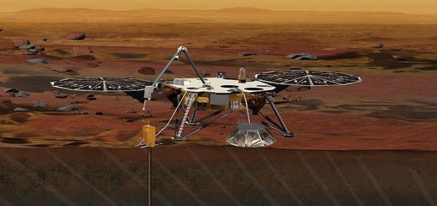 Delayed Mars probe is set for launch in 2018