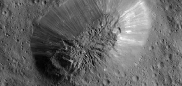 Ice volcano Ahuna Mons discovered on Ceres