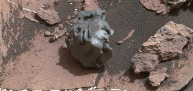 Mars Rover – Curiosity investigates strange unexplained iron